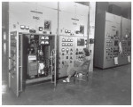 Woman observing beta unit control panel