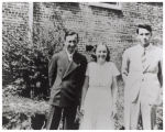 Dwight, Gladys and John Stair