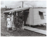 Trailer home of Mrs. W. J. Schreck