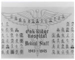 Oak Ridge Hospital medical staff 1943-1945