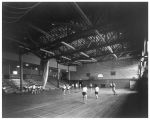 Basketball gym class at Oak Ridge High School