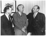 Three members of the Atomic Energy Commission