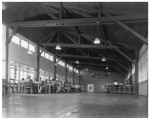 Interior of a recreation hall