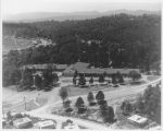 Aerial view of Glenwood School