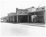 Ridge Theatre and neighboring shops at Jackson Square