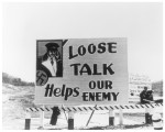 Loose talk helps our enemy