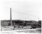 Construction of boiler plant and 9401 building