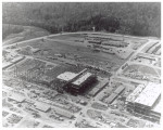 Aerial view of early construction at Y-12