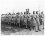 Women's Army Corps marching in review