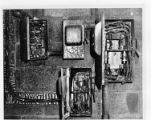 Fire damage to electric switches