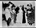 Children performing a play