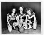 Three Carbide basketball players