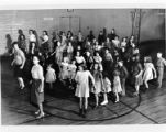 Children at a dance class