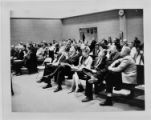 Audience at City Council meeting on April 7, 1966