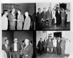 Municipal and Atomic Energy Commission officials celebrate the first annual Oak Ridge Independence...