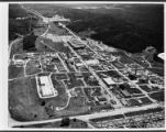 Aerial view of Oak Ridge National Laboratory looking east