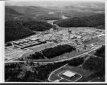Aerial view of Oak Ridge National Laboratory looking southwest