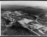 Aerial view of Oak Ridge National Laboratory looking northwest