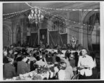 Banquet with military attendees