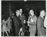 "Registration at Army-Navy ""E"" Award"