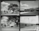 Four views of Oak Ridge High School
