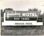 Holiday Motel billboard
