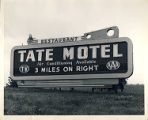 Tate Motel billboard