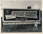 American Museum of Atomic Energy billboard