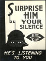Surprise him by your silence