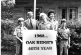 Boy Scouts celebrate Oak Ridge's 40th anniversary